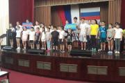 Закрытие школьной спартакиады - 2