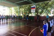 Открытие школьной Спартакиады. 2018-1