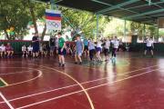 Открытие школьной Спартакиады. 2018-6
